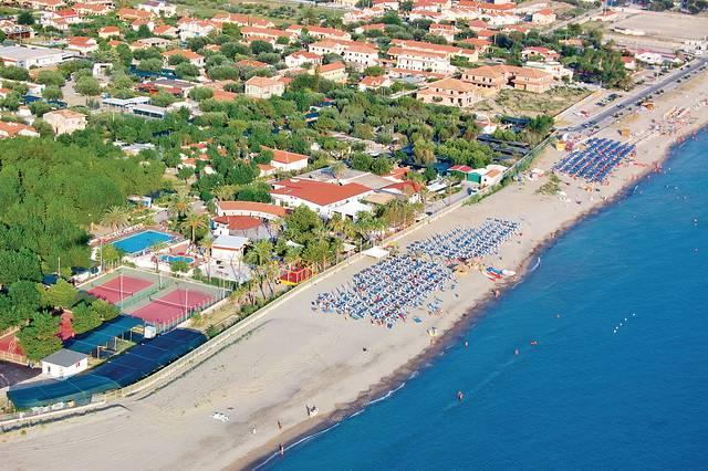 Itálie - Ascea Marina - Le Palme (apartmány)