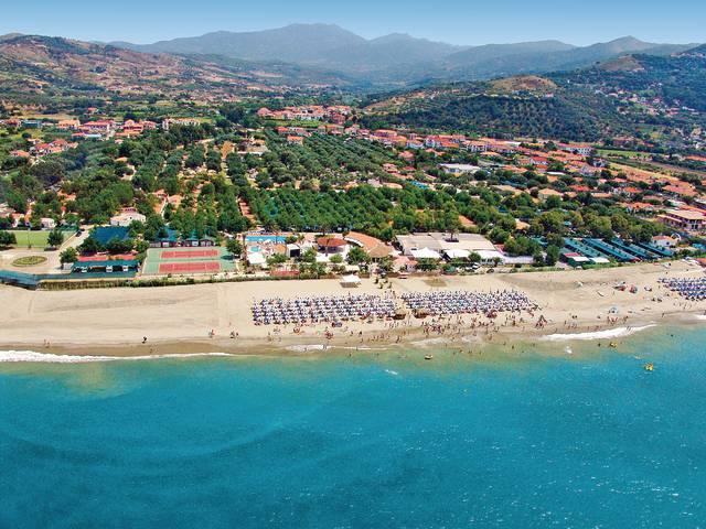 Itálie - Ascea Marina - Le Palme (hotel)
