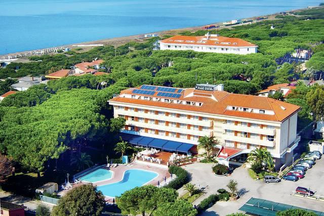 Itálie - Baia Domizia - Park hotel