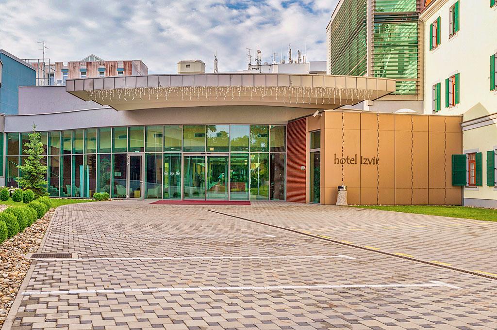 Slovinsko - Zdravilišce Radenci - Hotel Izvir