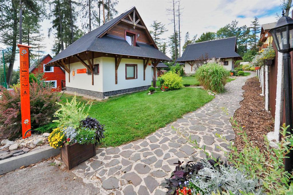Slovensko - Velký Slavkov - Resort Tatry Holiday