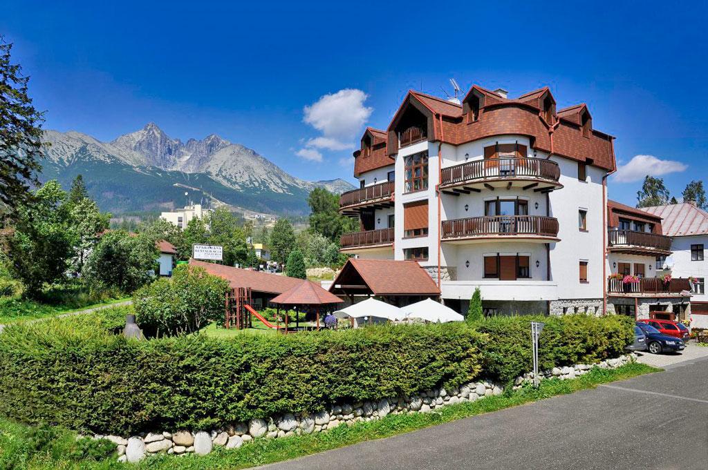 Slovensko - Tatranská Lomnica - Resort Beatrice - Vila Beatrice