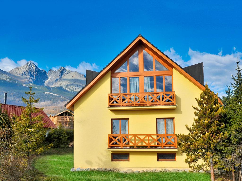 Slovensko - Tatranská Lomnica - Resort Beatrice - Vila Magnólia