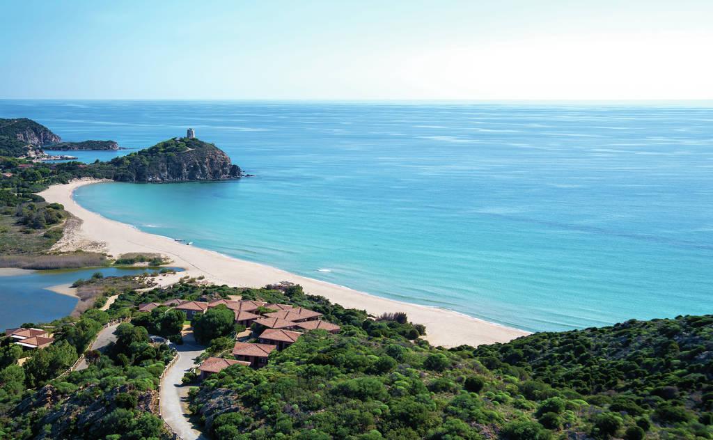 Itálie - Chia - Baia