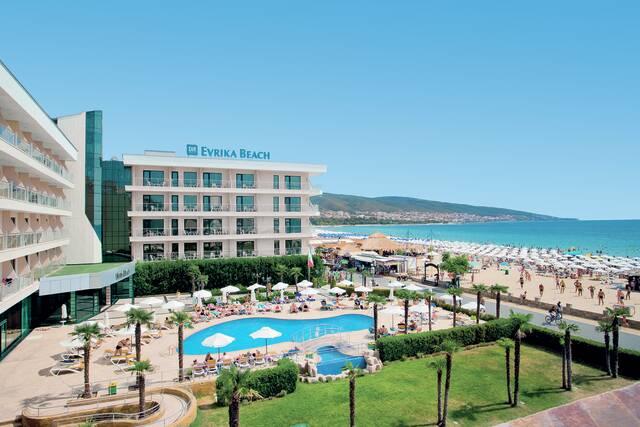 Bulharsko - Slunecné Pobreží - Evrika Beach Club Hotel