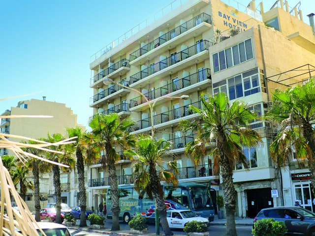 Malta - Sliema - Bay View