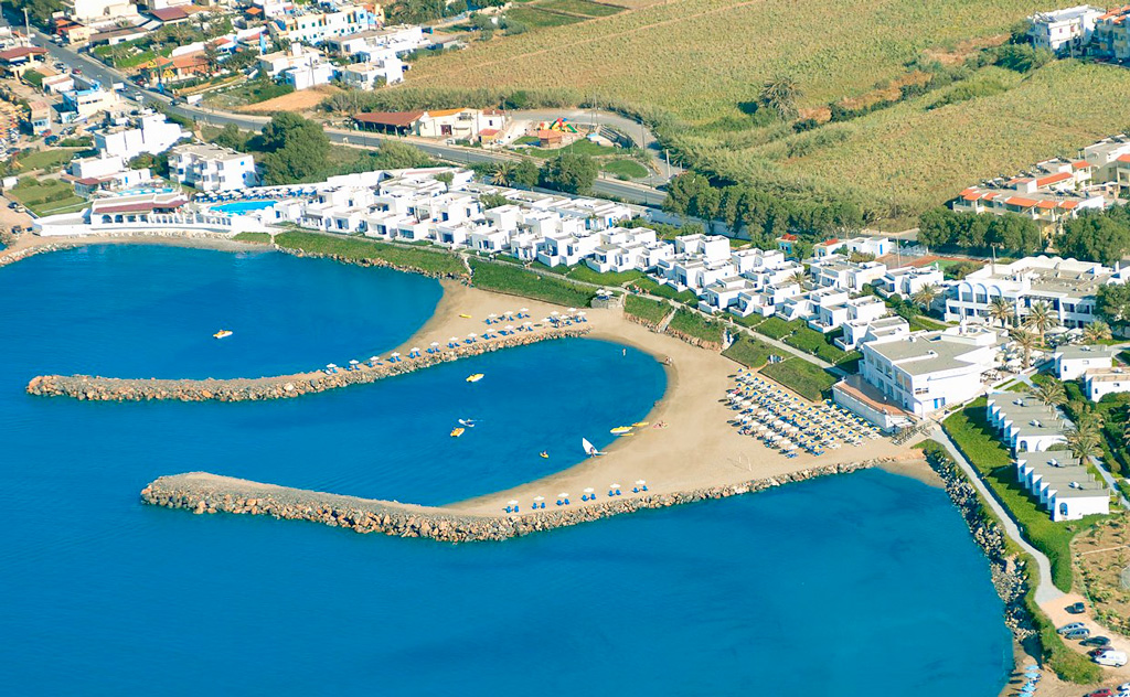 Recko - Kokkini Hani - Knossos Beach Bungalows & Suites