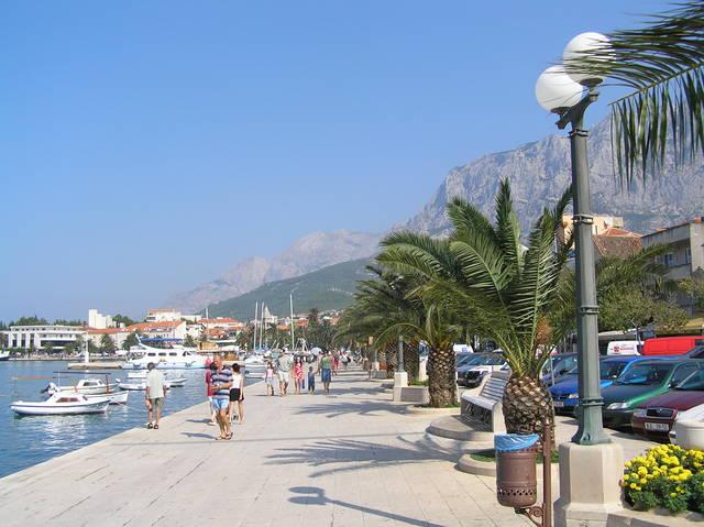 Chorvatsko - Makarska - Soukromé apartmány
