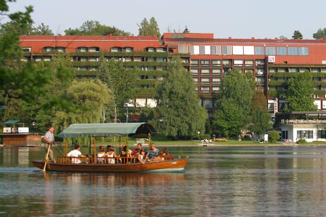 Slovinsko - Bled - Park