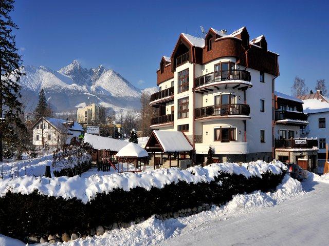 Slovensko - Tatranská Lomnica - Resort Beatrice
