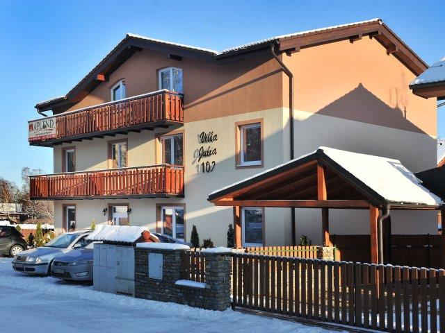 Slovensko - Tatranská Lomnica - Resort Beatrice - Depandance Júlia