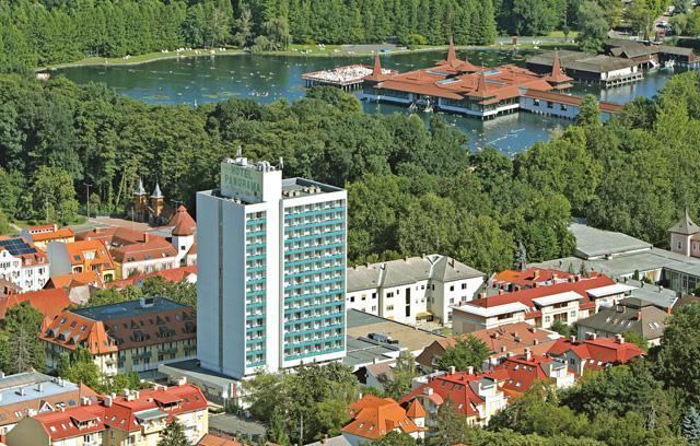 Maďarsko - Hévíz - Panorama
