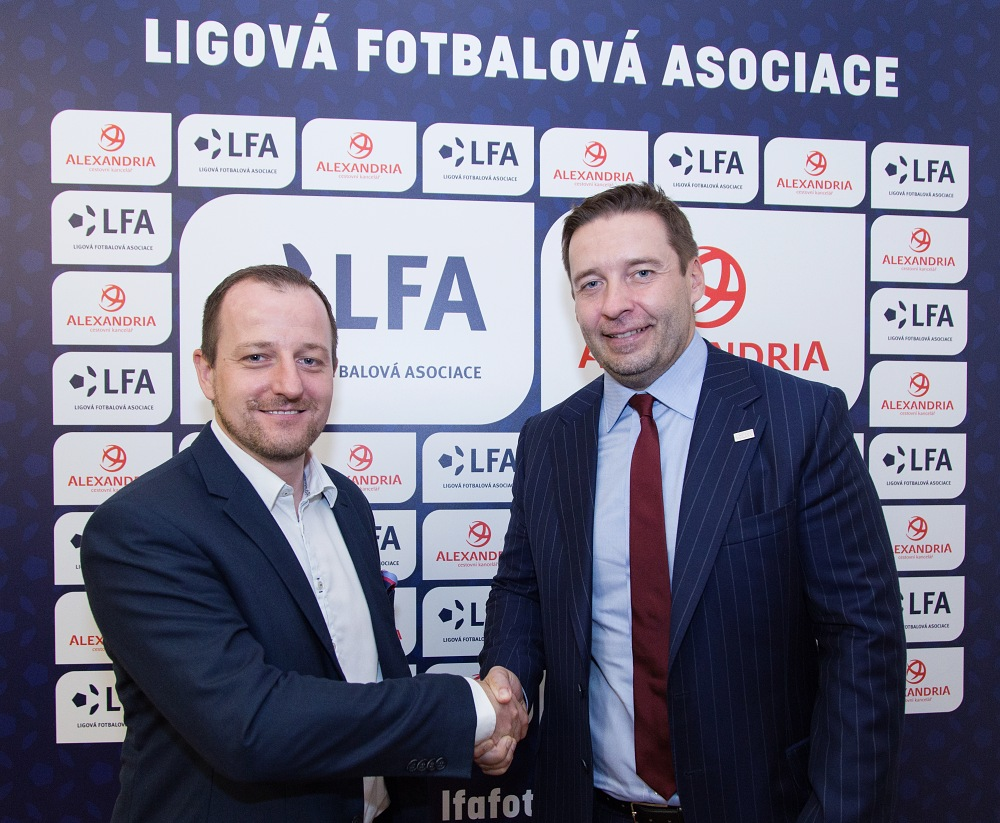 Cestovní kancelář Alexandria a Ligová Fotbalová asociace dnes oznámily  uzavření nové smlouvy. Alexandria se tak stala oficiálním partnerem  nejvyšší české ... 46ed1582c2